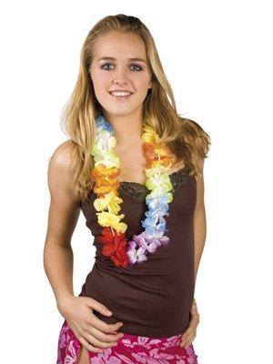 hawaiian-flower-necklace-chain-rainbow-luxe