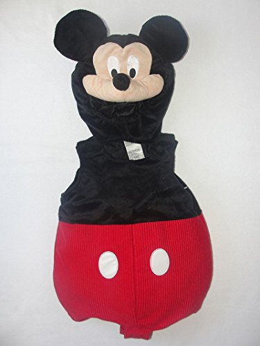 Disney Mickey Mouse 6-12 Months Velour Two-Piece Halloween Costume