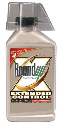 Roundup 5705010 Extended Control Weed and Grass Killer Concentrate, 32-Ounce
