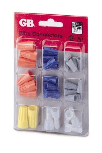 Gardner Bender Tk-32 Slide Card Assorted Electrical Wire Connector Kit, 32-Piece/Pk