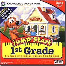 Jumpstart 1st Grade Classic (PC & Mac)