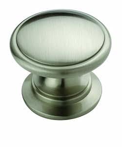 Amerock BP53012G10 Allison Value Hardware Knob, Satin Nickel, 1-1/4-Inch Diameter