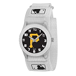 Pittsburgh Pirates Game Time Rookie White Watch P Logo