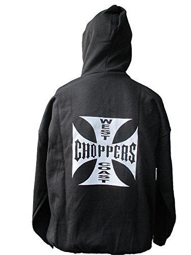 SWEAT CAPUCHE ZIPPE LOGO CROIX CHOPPER'S 2XL