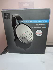 The Sharper Image Noise Cancelling Headphones