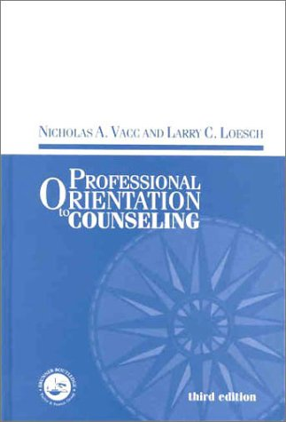 Professional Orientation to Counseling (Accelerated...