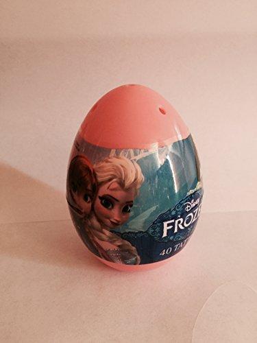 Disney Frozen Jumbo Easter Egg with 40 Tattoos