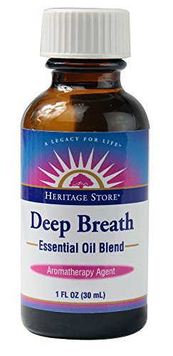 Heritage Products Deep Breath Essential Oil Blend -- 1 fl oz
