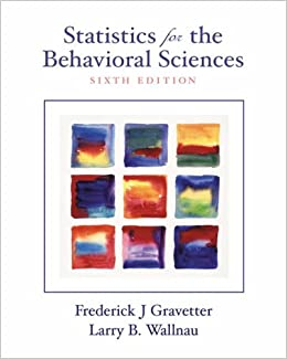 statistics for behavioral sciences gravetter pdf