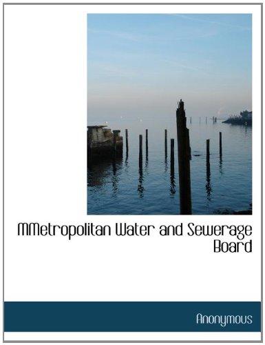 MMetropolitan Water and Sewerage Board