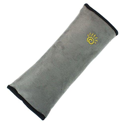 Generic® Baby-Kinder-Autositz Sicherheitsgurt Schulterabdeckung Kissen(Grau)