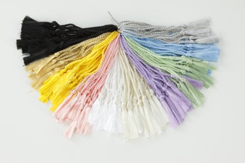 Check Out This 100 Assorted Colors Bookmark Tassels