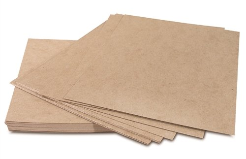 The Packaging Wholesalers 12 x 12-Inch Heavy Duty 30 Point. Chipboard Pad (490/Case) (BSCPHD1212)