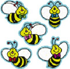 DAZZLE STICKERS BEES 75-PK - Buy DAZZLE STICKERS BEES 75-PK - Purchase DAZZLE STICKERS BEES 75-PK (Carson Dellosa, Toys & Games,Categories,Arts & Crafts,Stamps & Stickers)