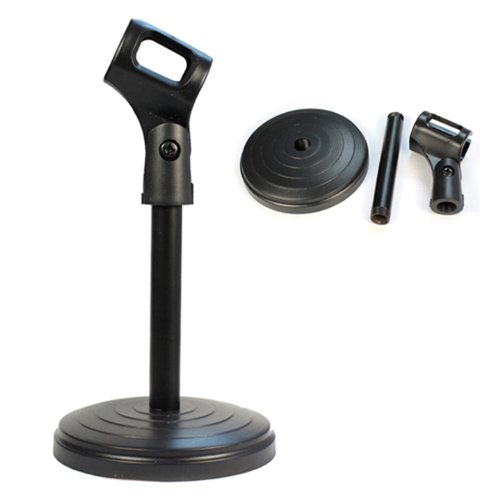 New Desktop Microphone Stands Holder For Conference Room Church Public Place