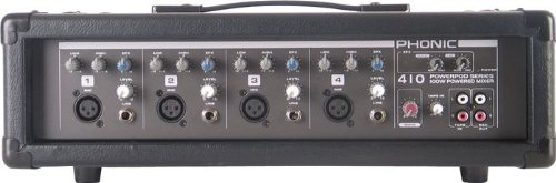 Phonic Powerpod 410 100W 4-Channel Powered Mixer