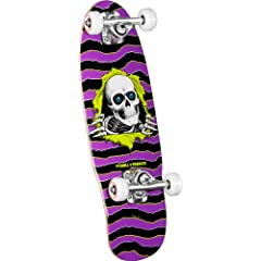 Buy Powell-Peralta Micro Ripper 3 Complete Skateboard (Purple Green) by Powell-Peralta