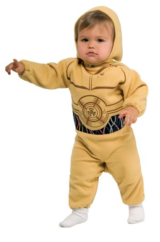 Star Wars Romper And Headpiece C-3Po