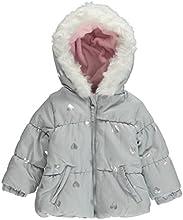 Weatherproof Baby Girls39 quotMetallic Heartsquot Jacket