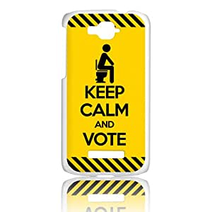 Amazon.com: BeCool Alcatel One Touch Pop C7 Cover Keep Calm Vote