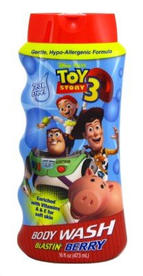 Toy Story 3 Body Wash 16 oz. Blastin' Berry (3-Pack) with Free Nail File