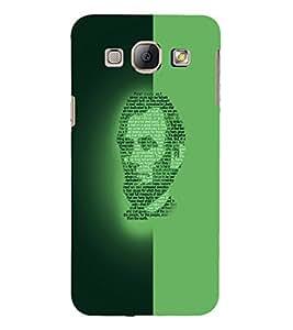 PrintVisa Modern Art Lincoln Face 3D Hard Polycarbonate Designer Back Case Cover for Samsung Galaxy A8