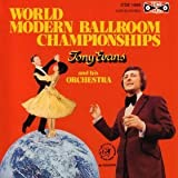 Tema International Ltd World Modern Ballroom Championships CD Music For Dancing recorded in tempo for music teaching performance or general listening and enjoyment