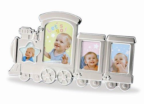 Baby-0 - kids ' train photo frame (4 open) 253-344