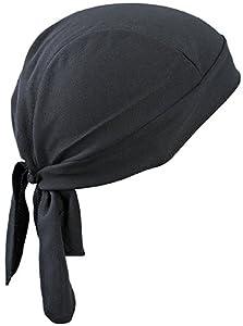 Functional Bandana Hat/Myrtle Beach (MB 6530) Black