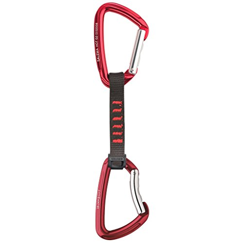 Salewa-Hot-G2-00-0000001691-Dgaine-Mousquetons-droitcourb-Taille-unique-Rouge