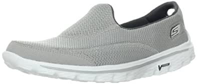 Skechers Gowalk 2, Women Athletic Sandals, Grey (Gry), 3 UK (36 EU)