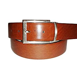 SANSHUL MEN BELT (SB-26 BLACK BROWN 30-42 INCH))