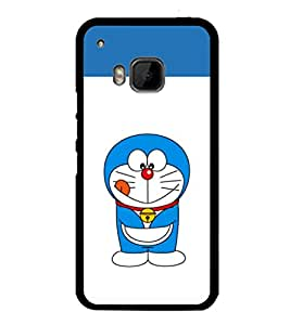 printtech Designer funny cartoon Back Case Cover for HTC One Hima