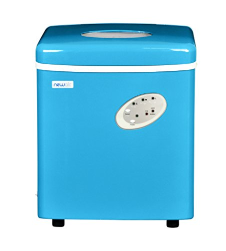 Countertop Dishwasher Korea : Product details of NewAir AI-100CB Portable Ice Maker (Blue)