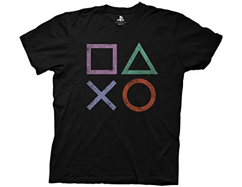 Ripple Junction PlayStation Vintage Icon Adult T-shirt