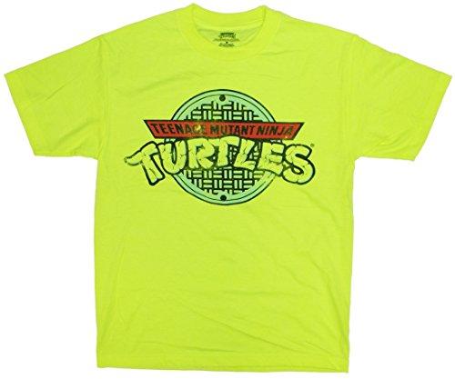 Teenage Mutant Ninja Turtles TMNT Neon Manhole T-Shirt