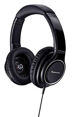 Panasonic Sealed Headphone High Resolution Sound sSource Black RP-HD5-K