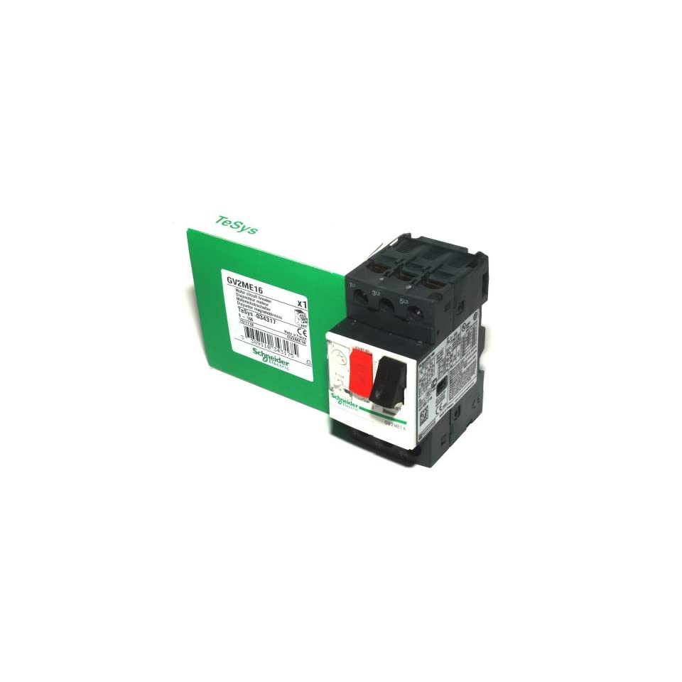 Telemecanique Gv2me16 Contactor Motor Circuit Breaker Schneider Electric Breakermotor Product On