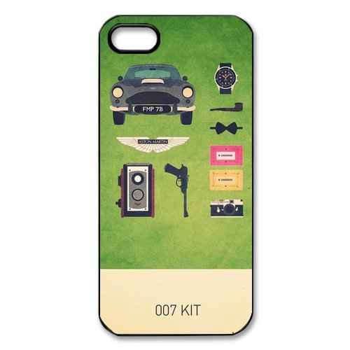 007 James Bond Classic Cool Movie Custom Hard Plastic Back Case Cover for iPhone 5 5S at Amazon.com