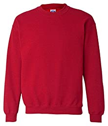 Gildan - Crewneck Sweatshirt. 18000 - Large - Red