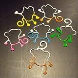 Tie Dye Monkey Bama Bandz 24 Pack - Glow in the Dark