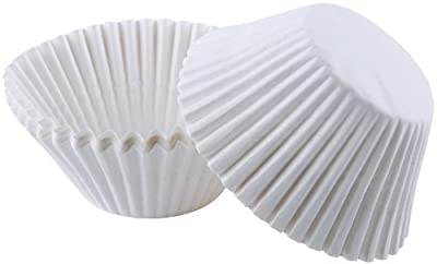 Jumbo Baking Cups White - 75 Ct