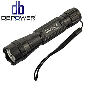 DB POWER WF 501b Cree Xml T6 3 Mode Cree Led Flashlight 900 Lumens (Generic Packaging)