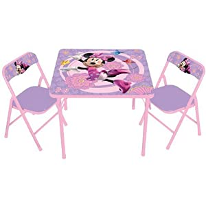 Kids Only Disney's Minnie Mouse Bowtique Activity Table Set by Kids Only TOY (English Manual)