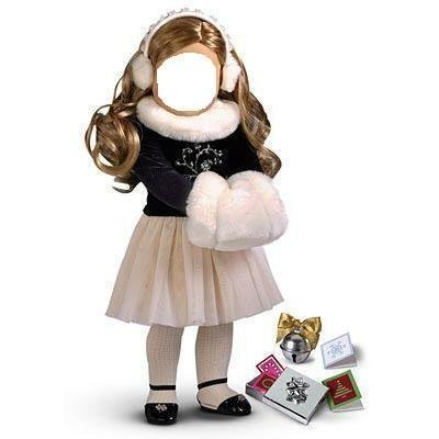 Winter Magic Outfit & Accessories for 18″ American Girl Doll image