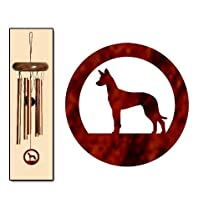 Pharaoh Hound Wind Chimes X-SMALL Bronze