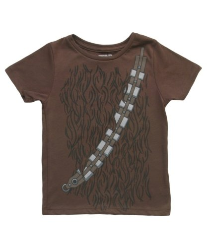 Star Wars I Am Chewbacca Todlers Brown Costume T-Shirt (Toddlers 2T)