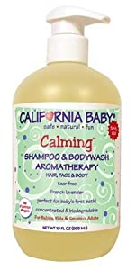 California Baby Calming Shampoo and Bodywash, 19 fl oz