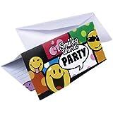 Riethmueller - 6 Cartons D'Invitation + Enveloppes Smiley