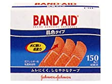 バンドエイド 救急絆創膏 肌色タイプ スタンダードサイズ 150枚